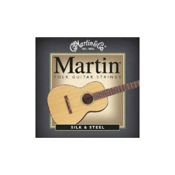 Martin 41M130 6 String Silk & Steel Wound - Light